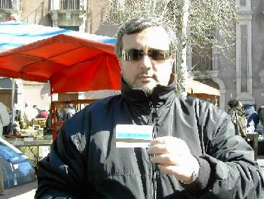 Catania arrestato un ladro colto sul fatto for Mercatino delle pulci catania
